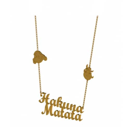 Disney Couture DLN100: Hakuna Matata Necklace