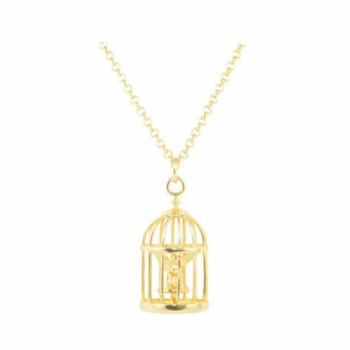 Disney Couture DYN0577: Tinker Bell Cage ketting