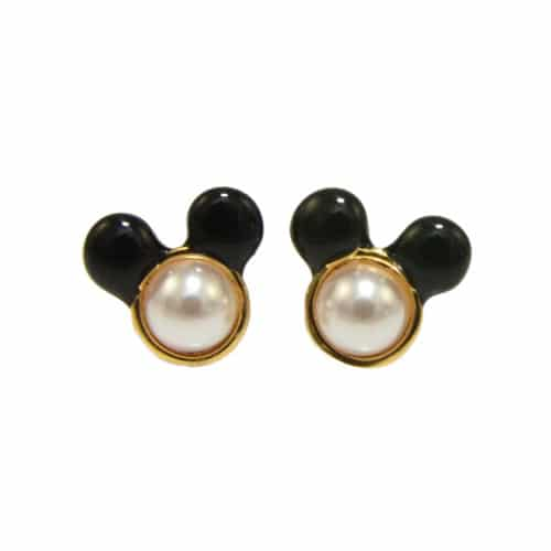 DYE0832 Disney Couture: Minnie Mouse studs