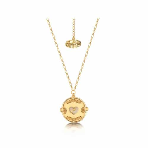 Disney Couture DYN0706: Alice In Wonderland Clock Necklace