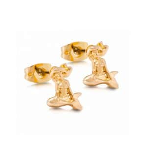 Disney Couture DYE0795: Ariel studs in goud