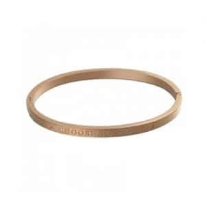 Armband met tekst Choose to shine in rosé