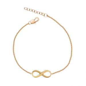 Infinity armband in goud
