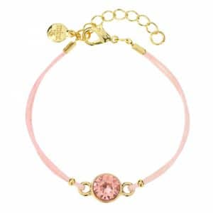 Mint15 Swarovski Cherry Bracelet Gold