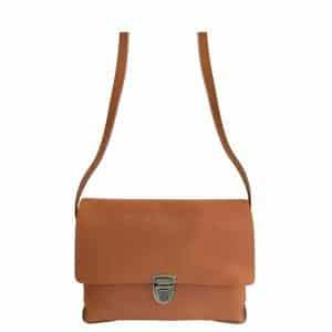 Tas Elvy Gloria Plain in cognac