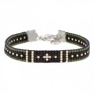 Mint15 Beads Bracelet Survivor in zilver
