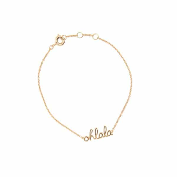 All the luck in the world armbandje ohlala goud