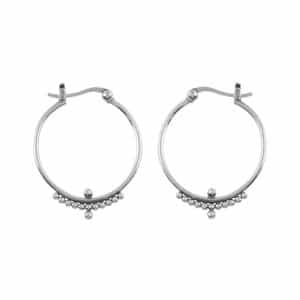 Midsummer Star Beaded Horizon Hoops