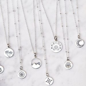 Midsummer Star Medallion Necklaces