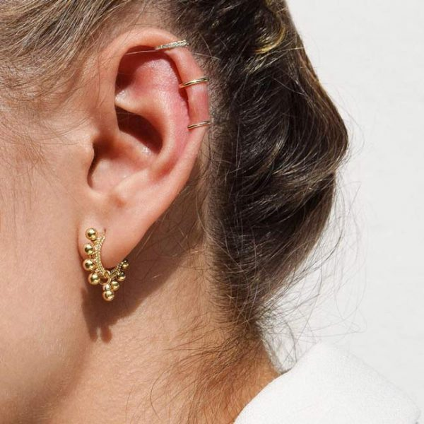 Ale Y Ole Disco Fever Gold ear cuff