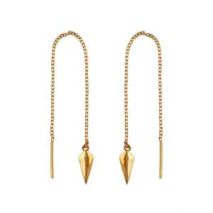 Midsummer Star gold pendulum threaders