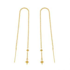 Midsummer Star Gold Celestial Threaders